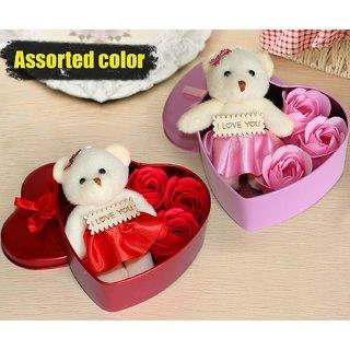 Valentine's Gift for Girlfriend Boyfriend Husband Wife Pack (Heart Shape)-2 Pcs
