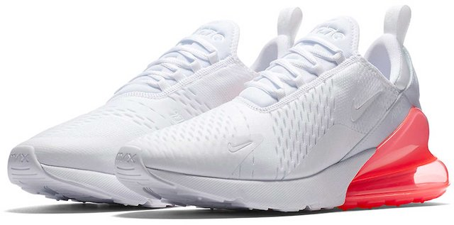size 40 e2d67 4b3ef Nike Air Max 270 White Running Shoe