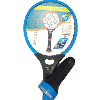 High Quality branded Onlite Mosquito Killer Bat Rechargeable Electronic Racket