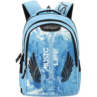 Genius Hardrock 32 L Blue Backpack Backpacks
