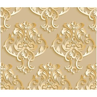 100yellow Designer Peel And Stick Self Adhesive Wall Paper Wall Sticker For Wall Dacor 44 Sqft