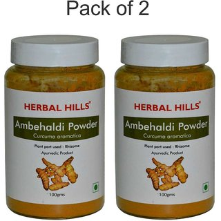 Herbal Hills Ambehaldi Powder - 100 gms (Pack of 2)