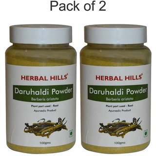 Herbal Hills Daru Haldi Powder - 100 gms (Pack of 2)