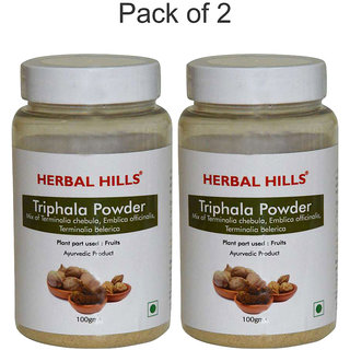 Herbal Hills Triphala Powder - 100 gms  (Pack of 2)