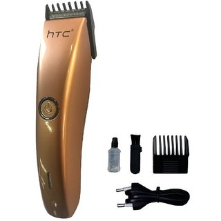 HTC Pro 206a Professional Cordless Trimmer for Men(White)
