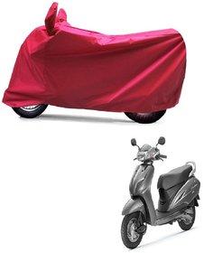 ABP Premium Red-Matty Bike Body Cover For Honda Activa 5G