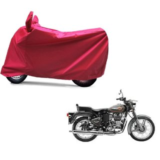 ABP Premium Red-Matty Bike Body Cover For Bullet 500