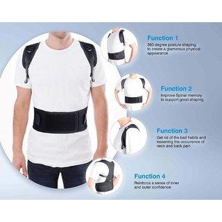1a61b60f944b6 Buy Real Doctors Plus Posture Support Brace Belt Back Brace Support Belt  Online - Get 53% Off