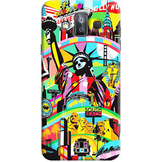 FABTODAY Back Cover for Samsung Galaxy J7 Duo - Design ID - 0556