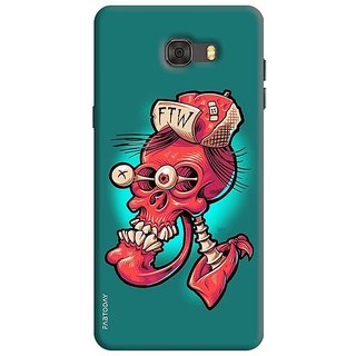FABTODAY Back Cover for Samsung Galaxy C7 Pro - Design ID - 0322