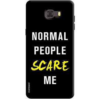FABTODAY Back Cover for Samsung Galaxy C7 - Design ID - 0359