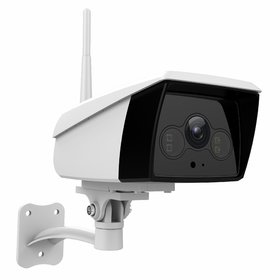 Vimtag Wireless Smart Cloud Outdoor IP Camera with Flood Light Model B4 2MP