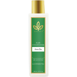 Herbal Sulfate free Hair Conditioner Green tea