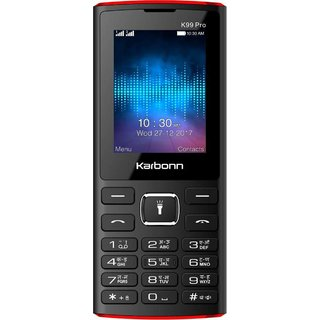 Karbonn K99 Pro Dual Sim 2.4 Inch Display, 3000 mAh Battery Mobile With Camera/ Torch And FM  With Recording Option