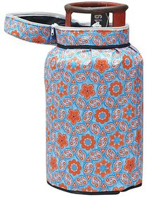 The Intellect Bazaar Lpg PVC Gas Cylinder cover (2521 Inches) , Light Blue