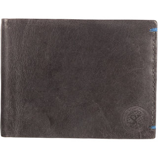 Styler King Men Genuine Leather Wallet Grey