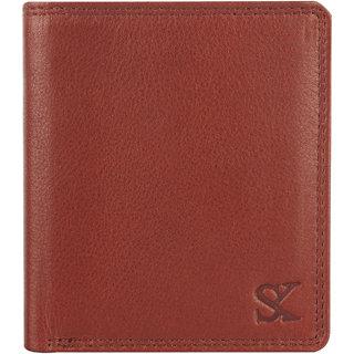 Styler King Men Genuine Leather Wallet Brown