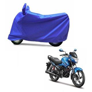 ABP Premium Blue-Matty Bike Body Cover For Hero Glamour FI