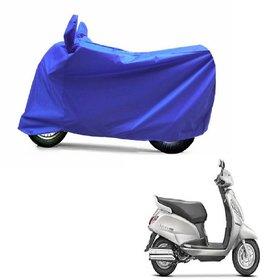 ABP Premium Blue-Matty Bike Body Cover For Suzuki Access