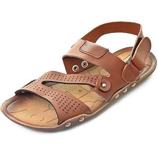 Gymsym men's casual sandal(Selfie-tan)