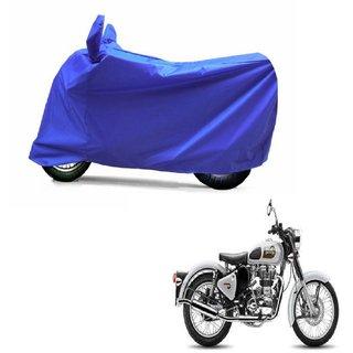 ABP Premium Blue-Matty Bike Body Cover For Bullet Classic 350