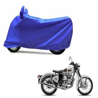 ABP Premium Blue-Matty Bike Body Cover For Bullet Classic 500