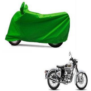 ABP Premium Green-Matty Bike Body Cover For Bullet Classic 350