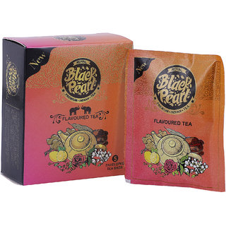 RBP Flavored Black Tea with Lemon(Heritage Blend) Lime Tea (5 Bags, Box)