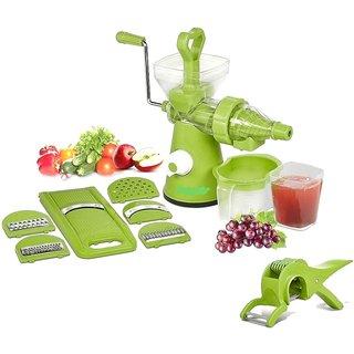 Chefzone Advanced Kitchen Combo Fruit Vegetable Juicer Slicer Peeler Set