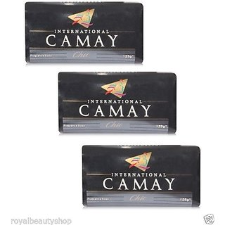 Camay International Fragrance Chic Soap (125 x 3)