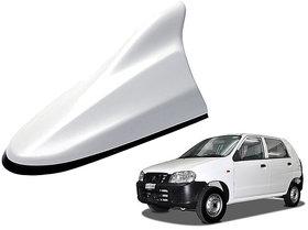 Auto Addict Premium Quality Car White Shark Fin Replacement Signal Receiver For Maruti Suzuki Alto
