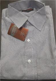 ZOOM Men's Polyster Regular Formal Shirt