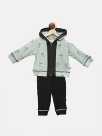 First Kick Kids Hoodies  Pyjama Combo Set For Girl's  Boy's