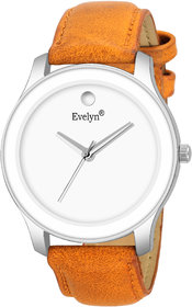 Evelyn Analogue Silver Dial Men's  Boy's Watch Eve-768
