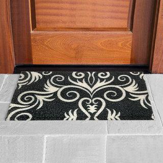 E-Retailer Premium PVC Anti Slip Door/Entrance Mat(Color Black Size LXW 24X16 Inches)