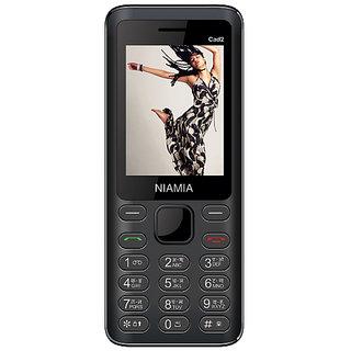 Niamia CAD 2  Dual Sim 2.4 Inch Display 1050 Mah Battery Made In Indi..