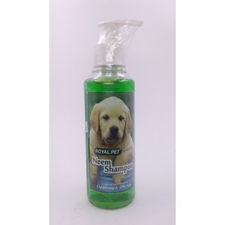 Royal PET  Neem  shampoo 200ml(enriched with neem and tulsi extracts conditioning and silky))