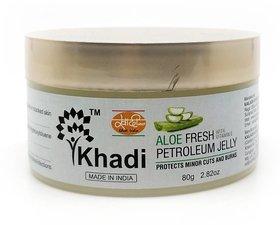 Khadi Aloe Fresh Petroleum Jelly -80 Gm (Pack of 2)