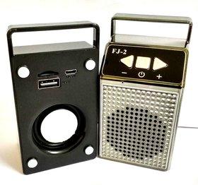 DOITSHOP FJ 2 Mini Bluetooth Wireless Portable Speakers Plus mobile stand  ( Color as Per Availability)