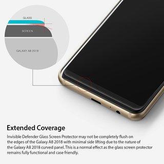 BIG B Tempered Glass  Flexible Screen Guard For Samsung Galaxy A8