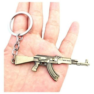 PUBG Metal Keychain Key Ring for Car  Bike Home Office Keyring