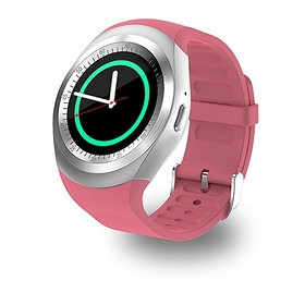 Y1 Bluetooth Smart Watch Compatible with All 3G, 4G Phone with Camera and Sim Card