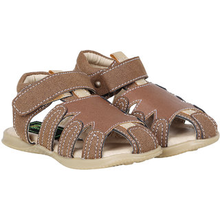Buckled Up Closed toe sandal for boys