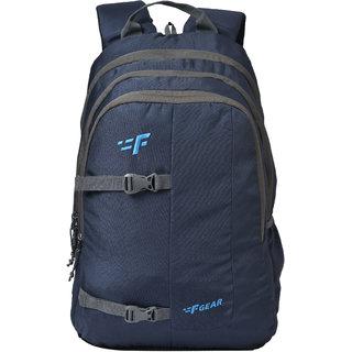 F Gear Berkely 28 Liters Backpack (Navyblue Guc)