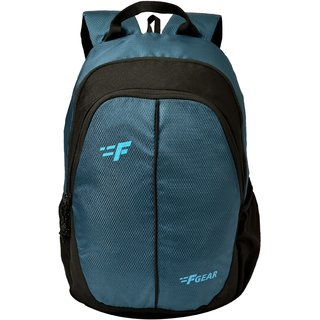 F Gear Paladin 26 Liters Backpack (Marine Blue Diamond, Black Guc)
