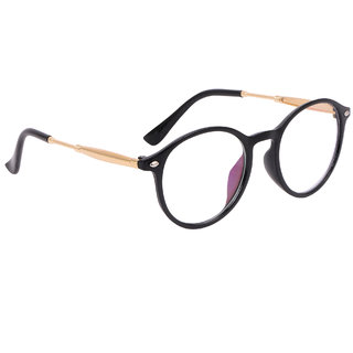 164c4f5401 Buy TheWhoop Full Rim Clear Round Unisex Spectacle Frame Stylish  Transparent Nightwear Eyeglasses for Men and Women Online - Get 66% Off