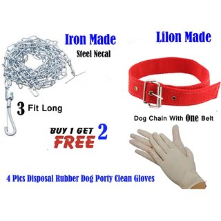 Dog Chain 4 Fit Iron Made