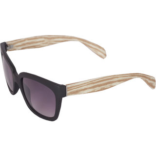 Ivy Vacker Multi-color Wayfarer Wooden Sunglass for Men