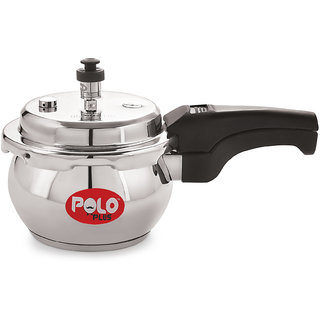 PoloPlus Pot Belly 5.5 Liter Induction Base Pressure Cooker