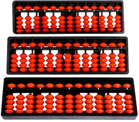 Aadithya Corp -13 ROD Brown Abacus kit - Set of 3